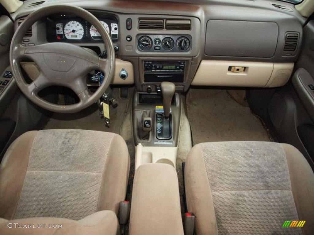 2004 mitsubishi montero sport interior car interior design for Mitsubishi montero interior