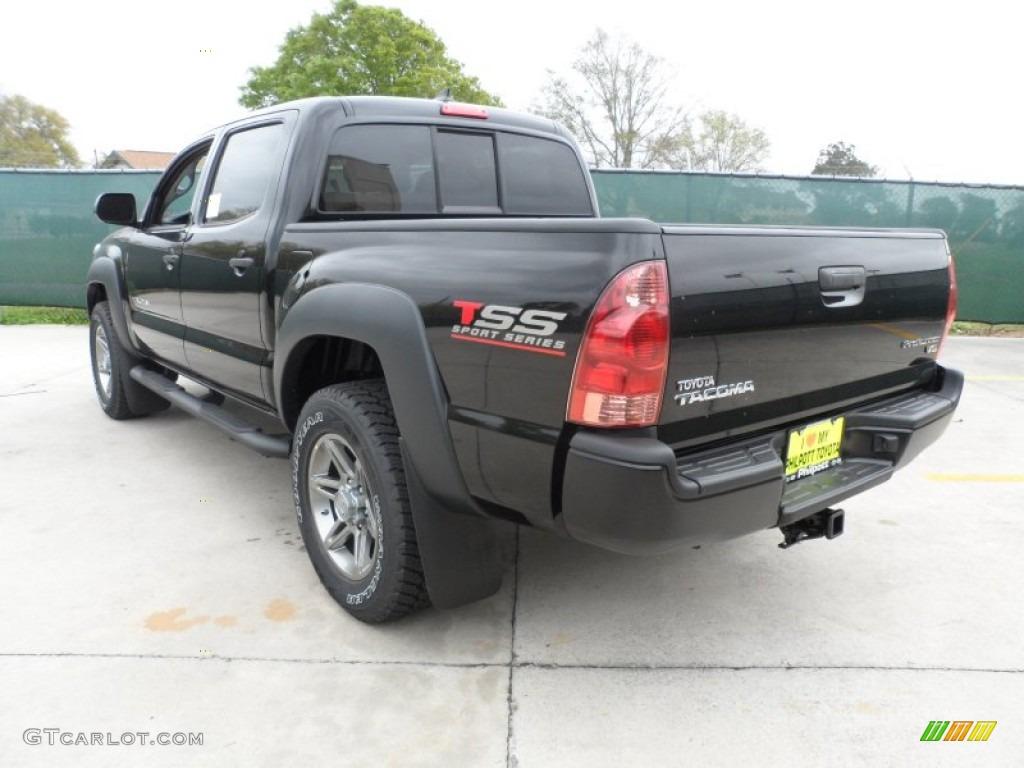black 2012 toyota tacoma v6 tss prerunner double cab exterior photo 62068523. Black Bedroom Furniture Sets. Home Design Ideas