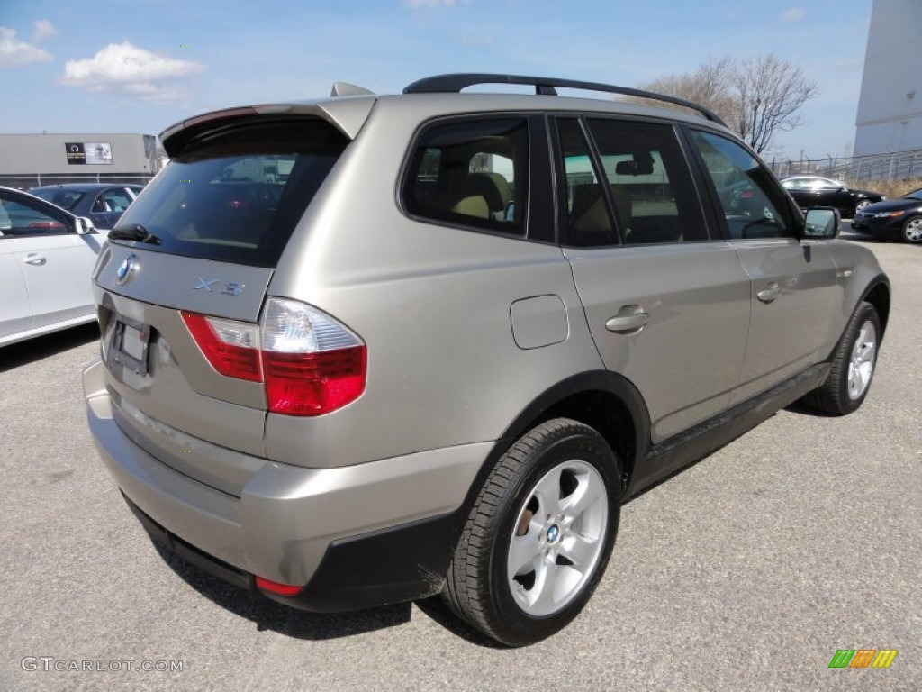 Platinum Bronze Metallic 2007 Bmw X3 Exterior Photo 62070469