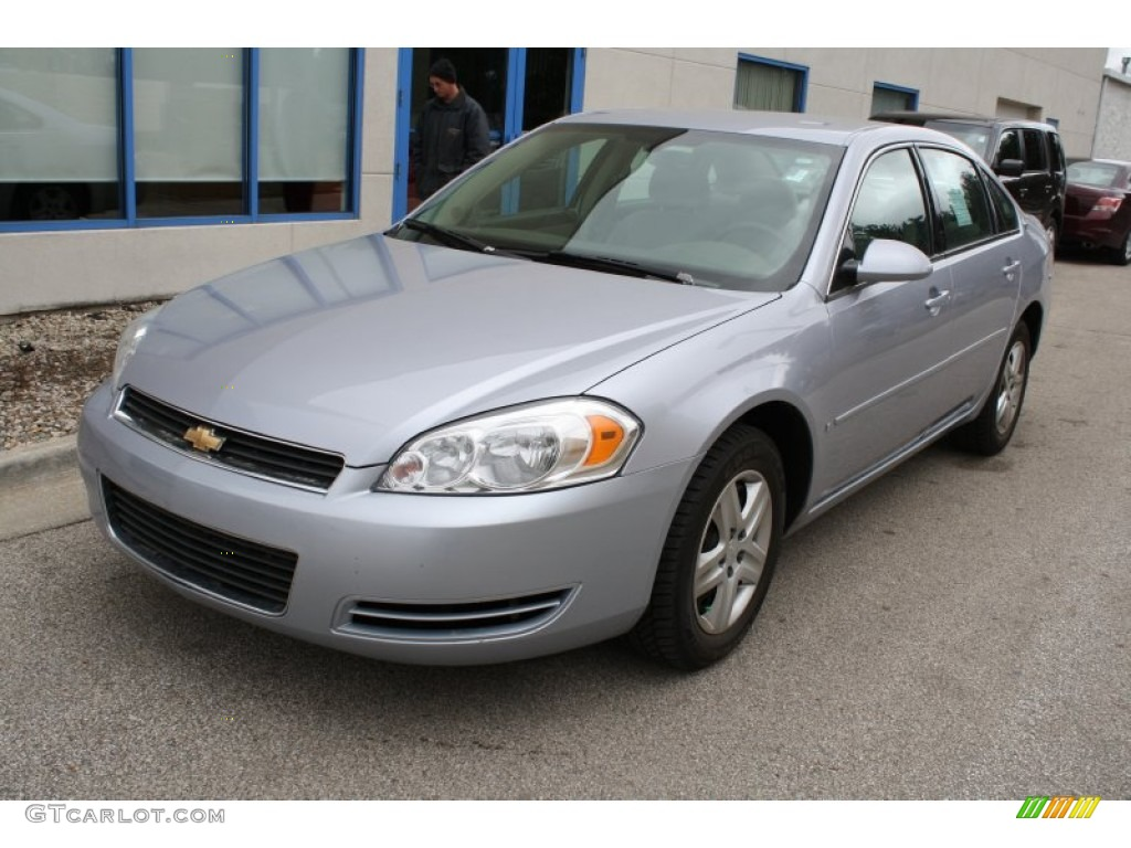 glacier blue metallic 2006 chevrolet impala ls exterior. Black Bedroom Furniture Sets. Home Design Ideas
