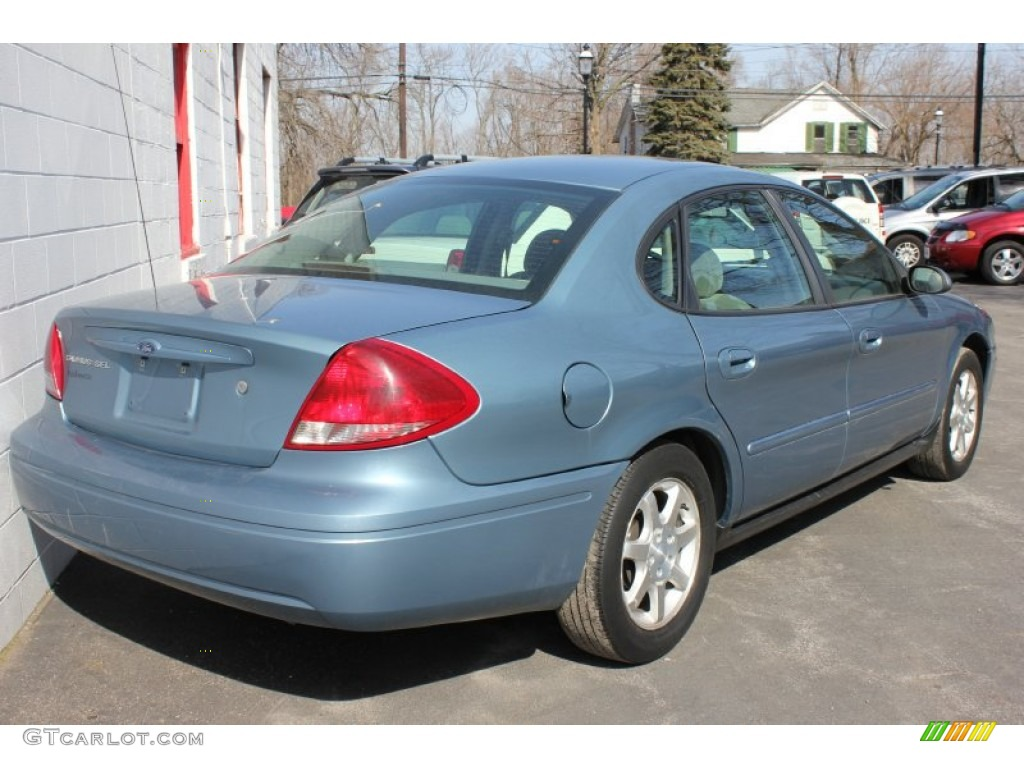 Windveil blue metallic 2006 ford taurus sel exterior photo 62075912