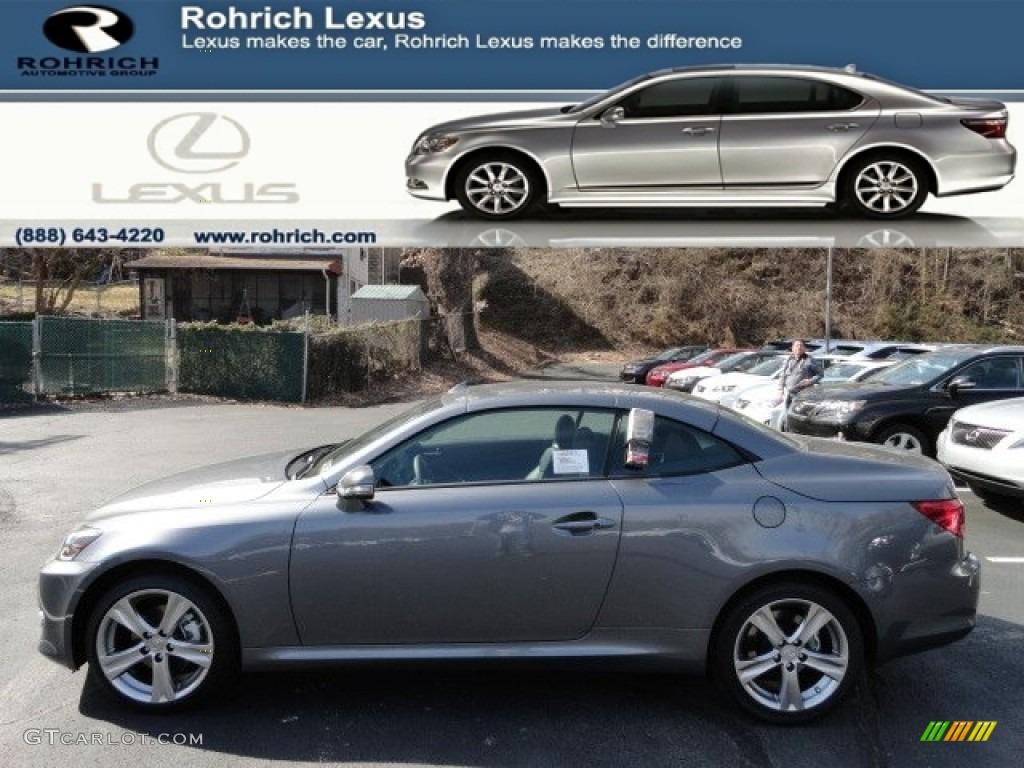 Nebula Gray Pearl Lexus IS. Lexus IS 250 C Convertible