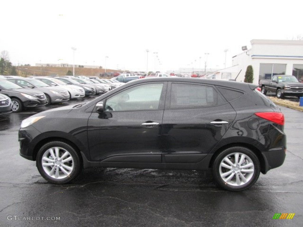 ash black 2012 hyundai tucson limited awd exterior photo 62081510. Black Bedroom Furniture Sets. Home Design Ideas