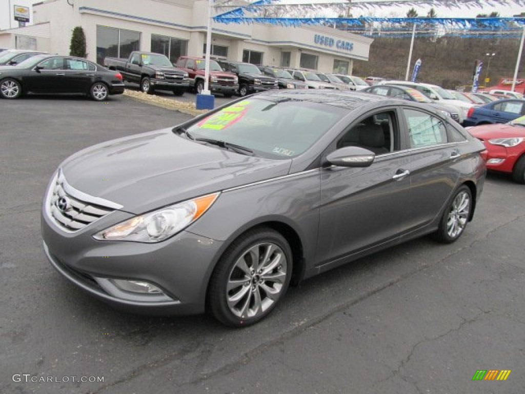 harbor gray metallic 2012 hyundai sonata limited 2 0t exterior photo 62083314. Black Bedroom Furniture Sets. Home Design Ideas