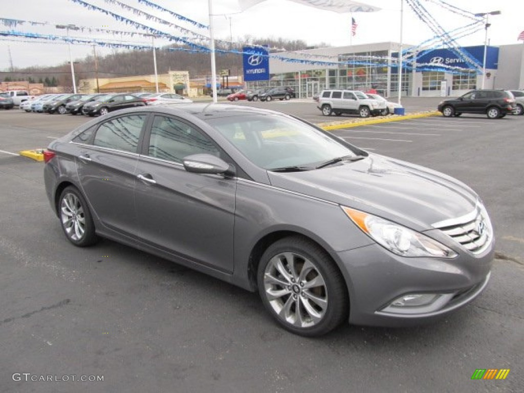 2012 harbor gray metallic hyundai sonata limited 2 0t 62036023 car color galleries. Black Bedroom Furniture Sets. Home Design Ideas