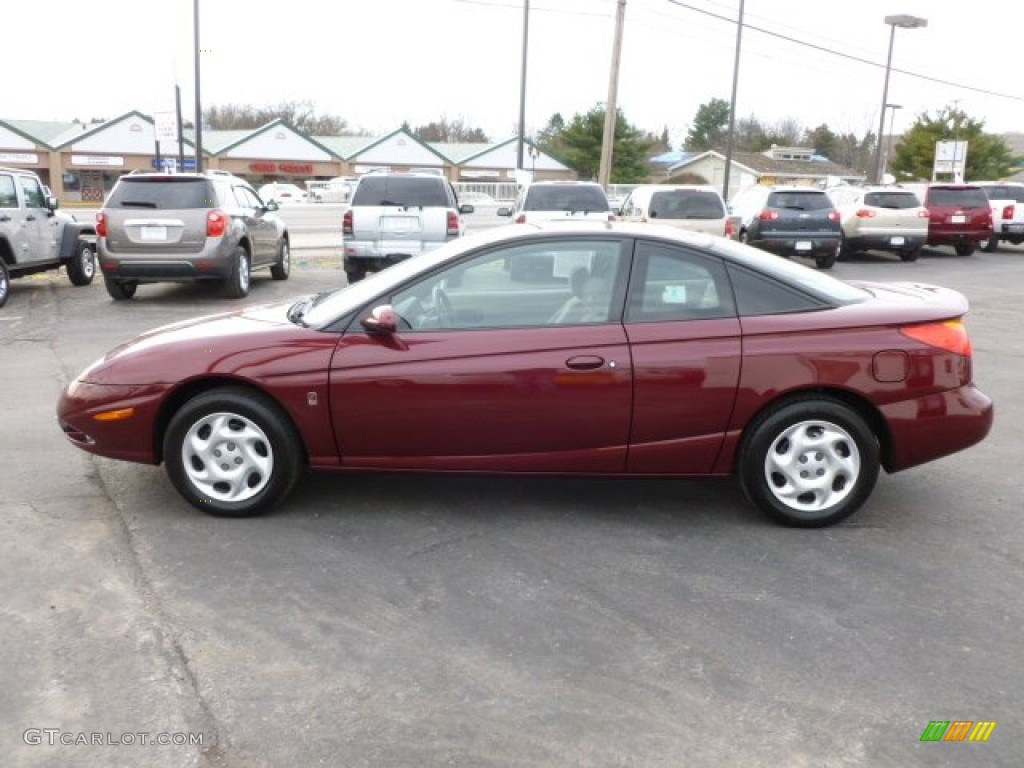 Cranberry 2002 Saturn S Series Sc2 Coupe Exterior Photo