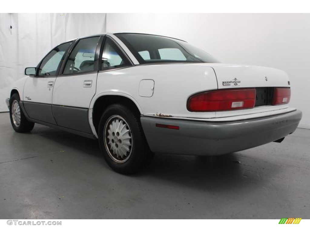 1996 bright white buick regal gran sport sedan 62035969 photo 7 car color. Black Bedroom Furniture Sets. Home Design Ideas