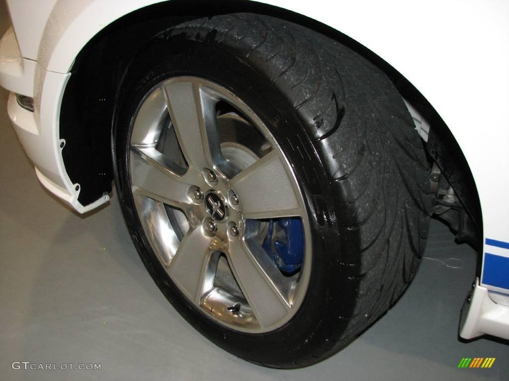 2007 Mustang GT Premium Coupe - Performance White / Medium Parchment photo #27