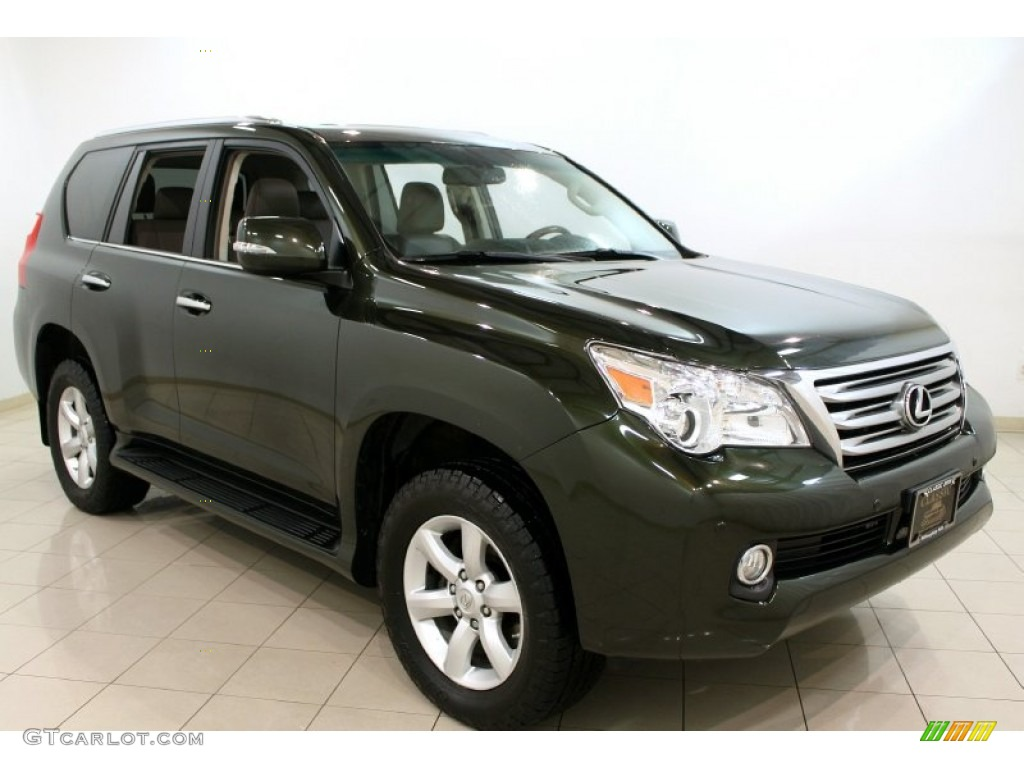 2010 Peridot Green Mica Lexus Gx 460 62036663 Car Color Galleries