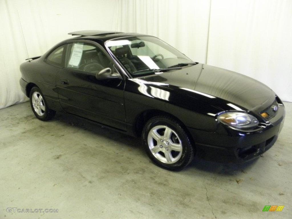 2003 Escort ZX2 Coupe - Black / Dark Charcoal photo #1