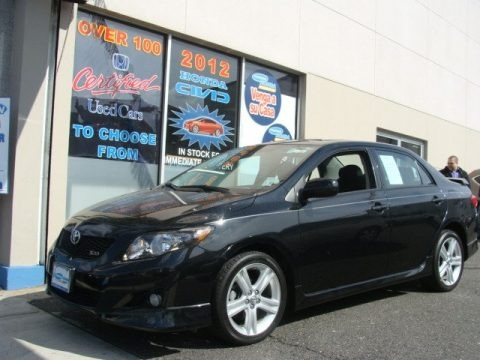 2010 toyota corolla xrs specifications