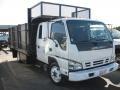 White 2007 Isuzu N Series Truck NQR Crew Cab