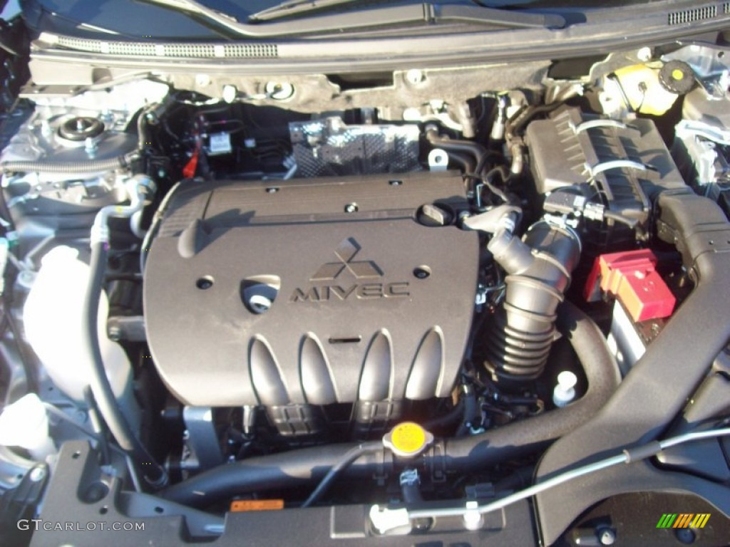 2012 Mitsubishi Lancer ES 2.0 Liter DOHC 16-Valve MIVEC 4 ...