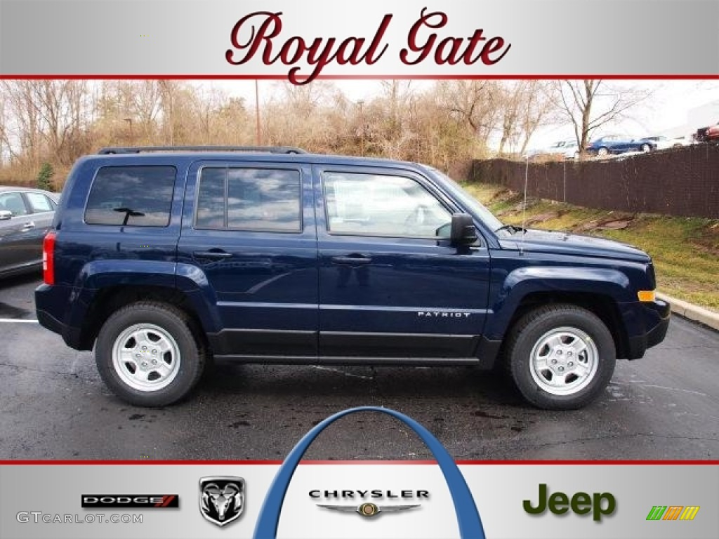 True Blue Pearl Jeep Patriot