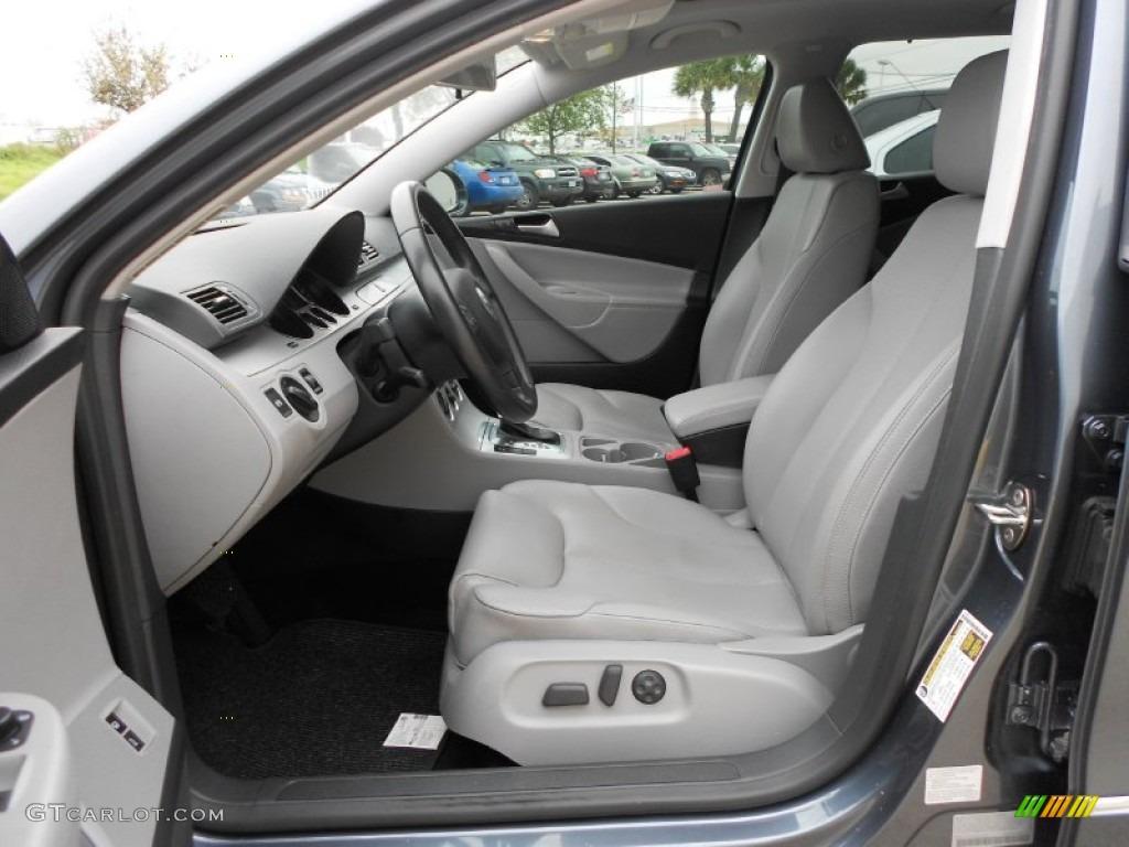 Classic Grey Interior 2009 Volkswagen Passat Komfort Wagon Photo 62118772