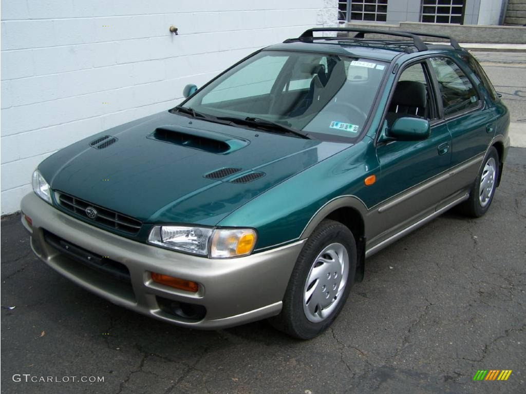 2000 acadia green metallic subaru impreza outback sport. Black Bedroom Furniture Sets. Home Design Ideas