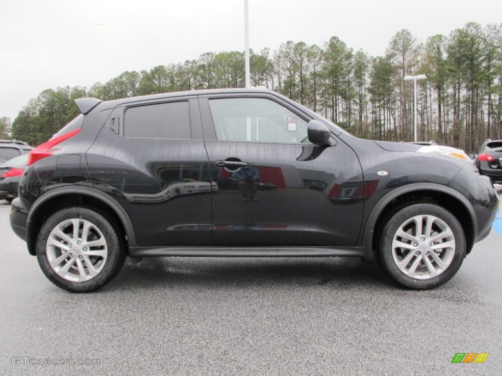 sapphire black 2012 nissan juke sv exterior photo. Black Bedroom Furniture Sets. Home Design Ideas