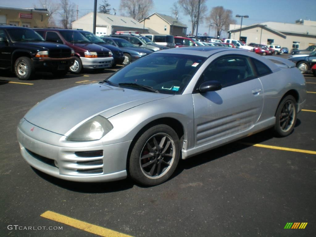 Sterling Silver Metallic Mitsubishi Eclipse