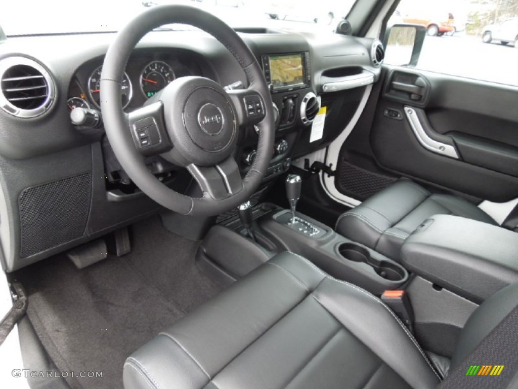 Black interior 2012 jeep wrangler unlimited sahara 4x4 - 2012 jeep wrangler unlimited interior ...