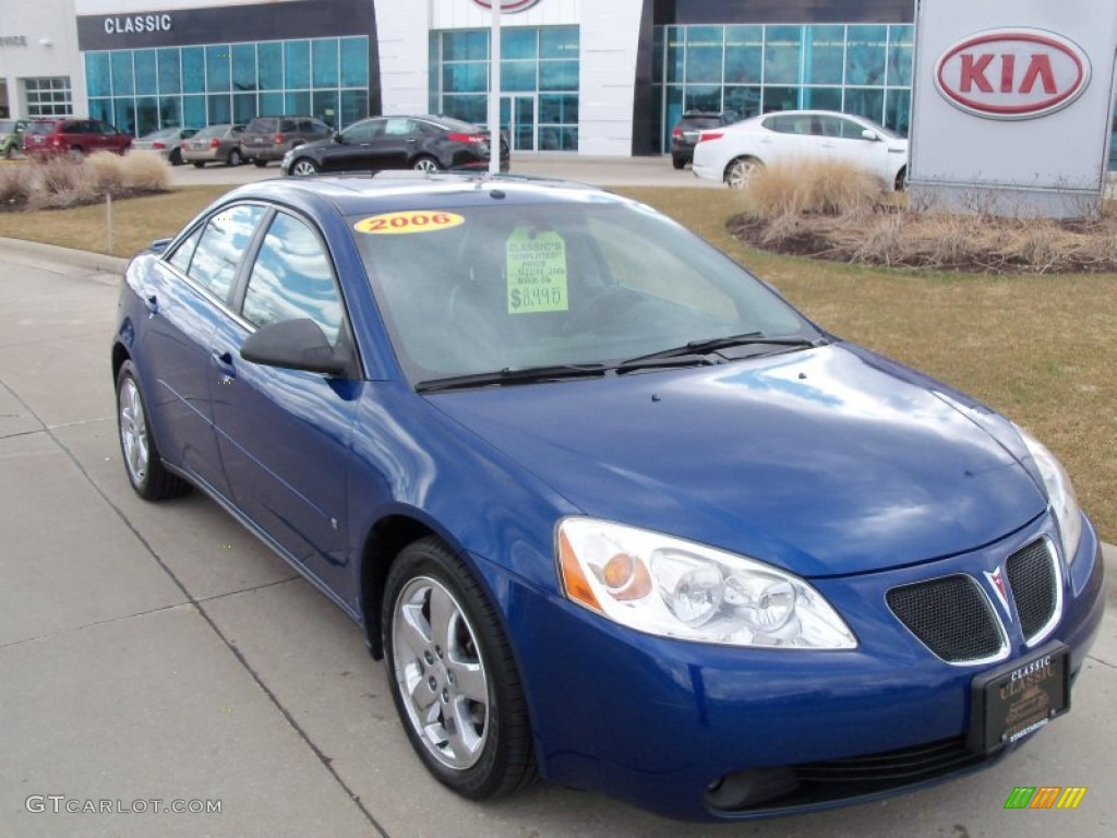 2006 Electric Blue Metallic Pontiac G6 Gt Sedan 62098213