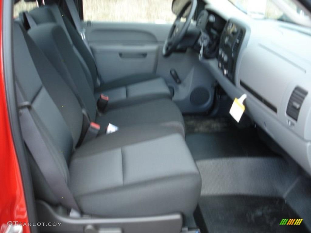 2012 Silverado 1500 Work Truck Regular Cab - Victory Red / Dark Titanium photo #15