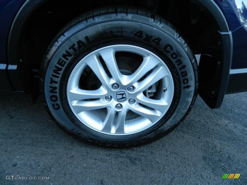 2011 CR-V EX 4WD - Royal Blue Pearl / Gray photo #11