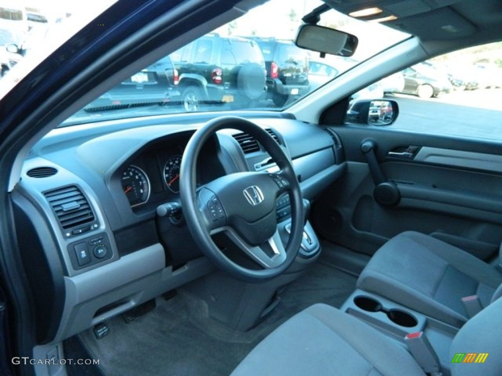 2011 CR-V EX 4WD - Royal Blue Pearl / Gray photo #23