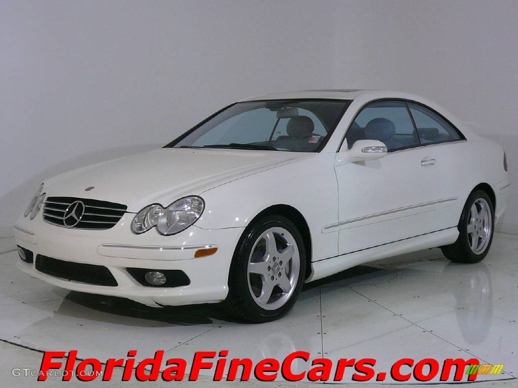2004 alabaster white mercedes benz clk 500 coupe 544148 for 2004 mercedes benz clk500 coupe
