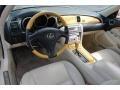Ecru Beige Dashboard Photo for 2003 Lexus SC #62170318