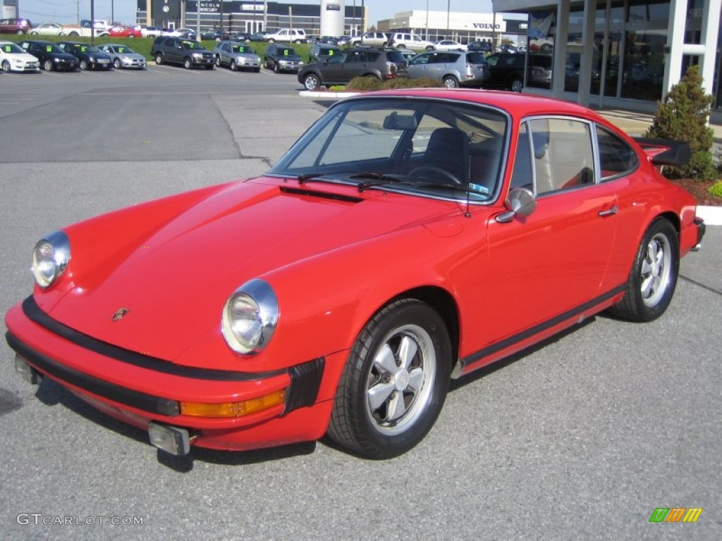 1974 911 Coupe - Guards Red / Black photo #1