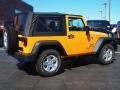 2012 Dozer Yellow Jeep Wrangler Sport S 4x4  photo #3