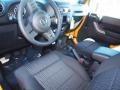 2012 Dozer Yellow Jeep Wrangler Sport S 4x4  photo #4