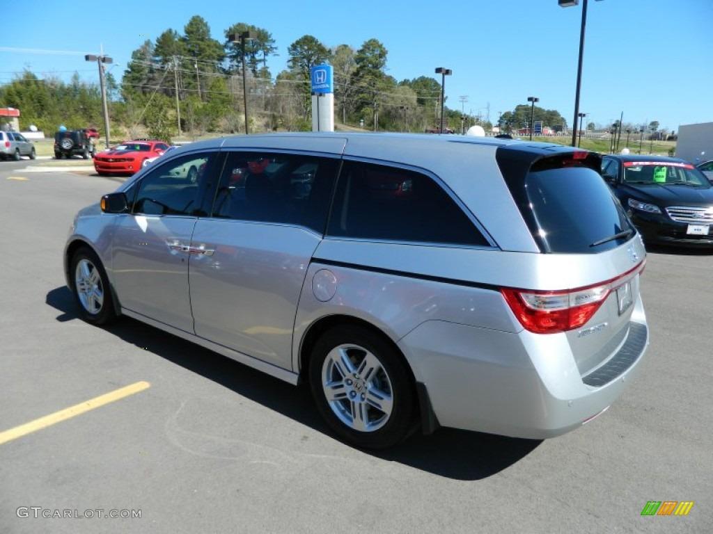 Alabaster Silver Metallic 2011 Honda Odyssey Touring Exterior Photo 62176069 Gtcarlot Com