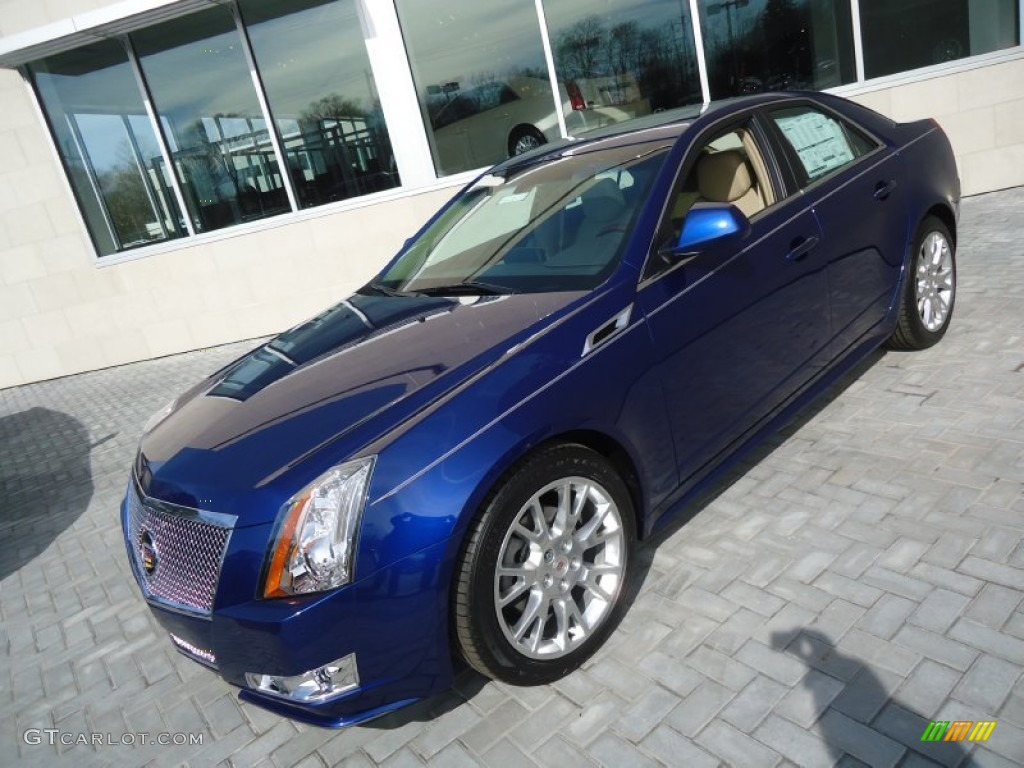 2012 Opulent Blue Metallic Cadillac Cts 4 3 6 Awd Sedan