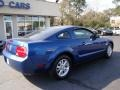 2007 Vista Blue Metallic Ford Mustang V6 Deluxe Coupe  photo #8