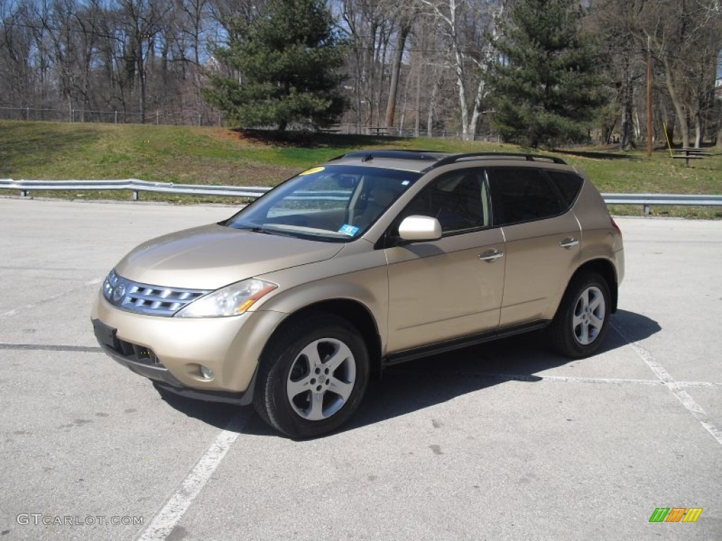 Luminous Gold Metallic Nissan Murano. Nissan Murano SL AWD