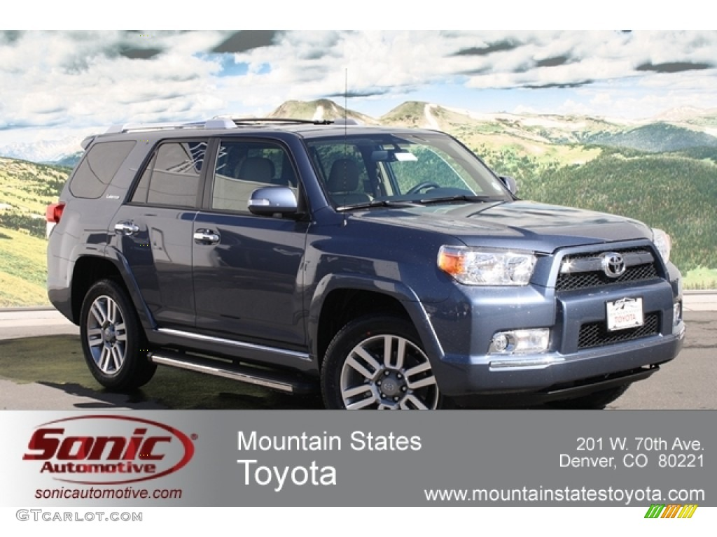 2012 shoreline blue pearl toyota 4runner limited 4x4 62158952 car color galleries. Black Bedroom Furniture Sets. Home Design Ideas