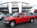 Radiant Red 2008 Isuzu i-Series Truck i-290 S Extended Cab