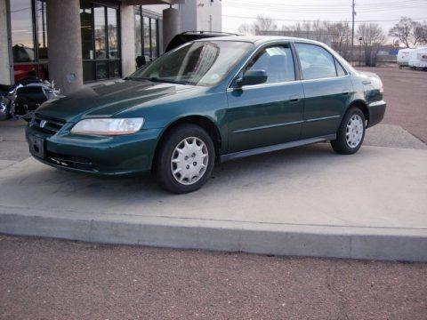 2002 Honda Accord LX Sedan Data, Info and Specs