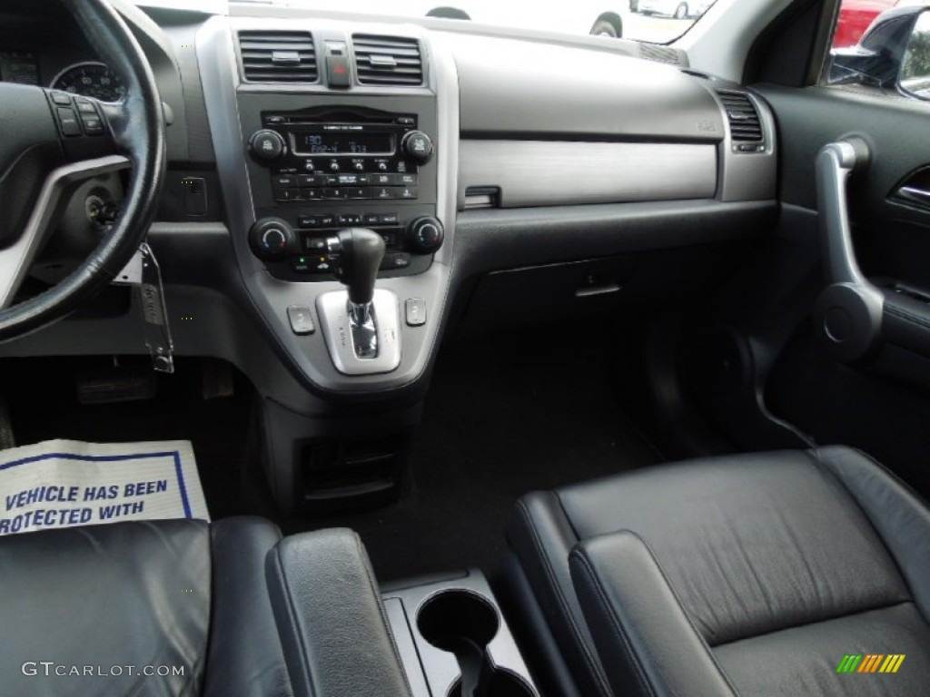 2008 CR-V EX-L - Royal Blue Pearl / Black photo #18