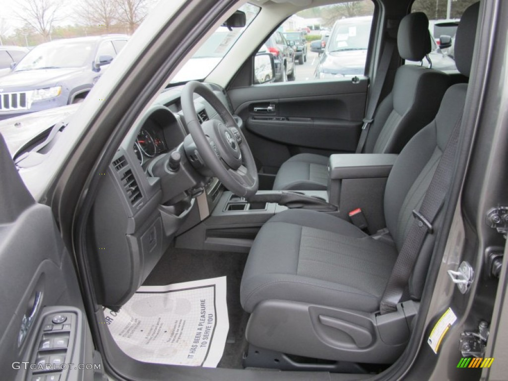 dark slate gray interior 2012 jeep liberty sport photo. Black Bedroom Furniture Sets. Home Design Ideas