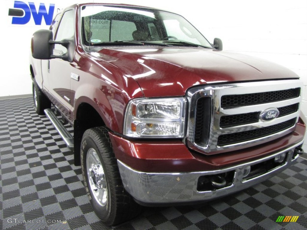 1999 Ford F350 Xl Supercab Super Duty News >> 2007 Dark Toreador Red Metallic Ford F350 Super Duty Lariat SuperCab 4x4 #62194442 | GTCarLot ...