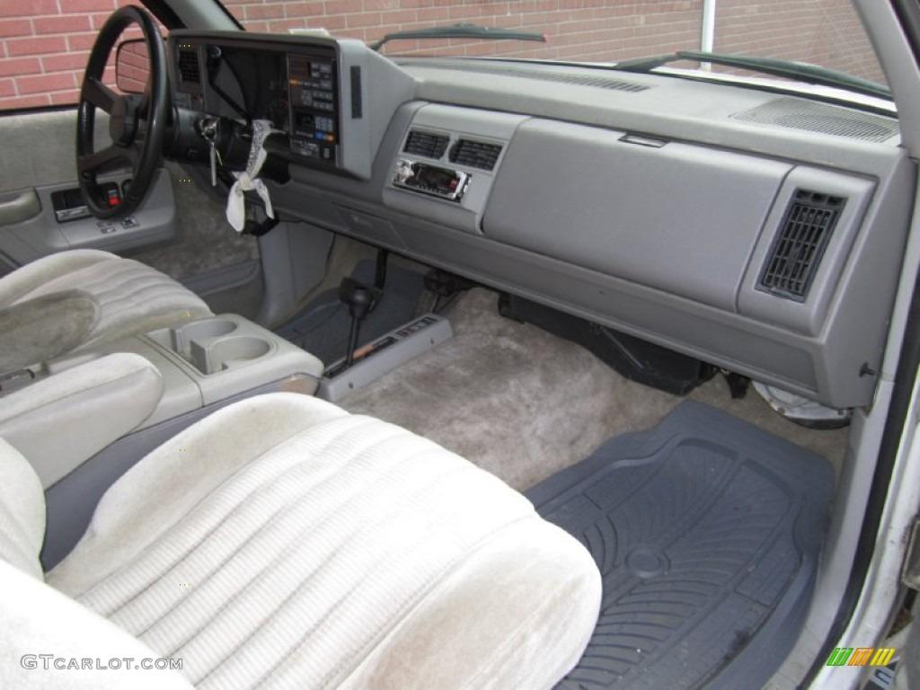 1994 GMC Yukon SLE 4x4 Gray Dashboard Photo #62212260 ...