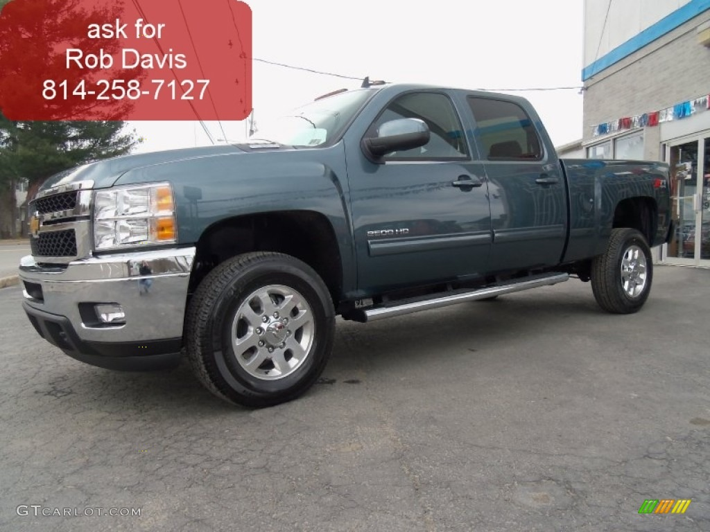 Blue granite metallic chevrolet silverado 2500hd
