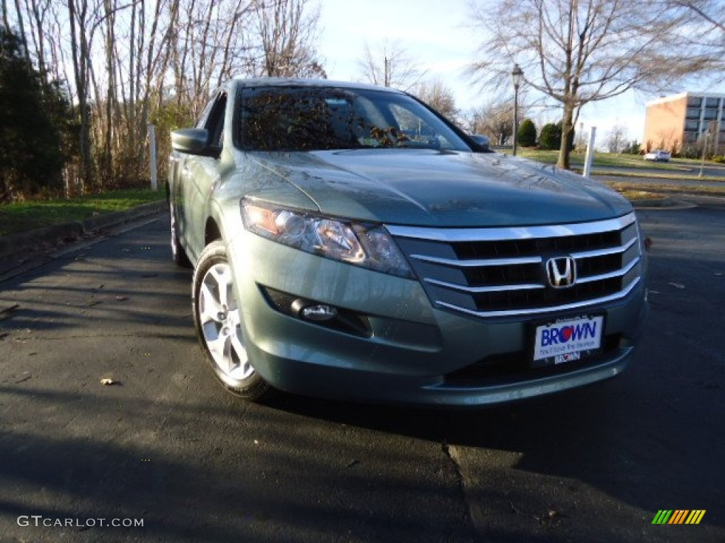 2012 Accord Crosstour EX-L - Opal Sage Metallic / Ivory photo #1