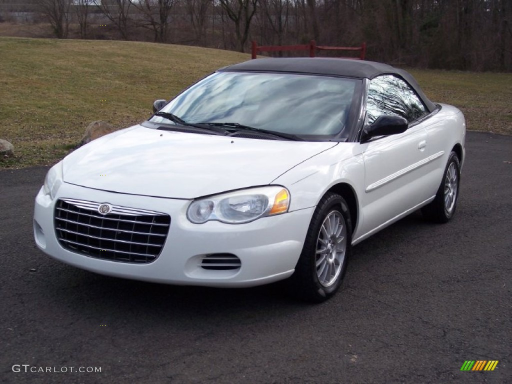 stone white 2004 chrysler sebring lx convertible exterior. Black Bedroom Furniture Sets. Home Design Ideas