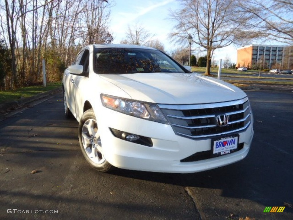 2012 Taffeta White Honda Accord Crosstour Ex L 62194555