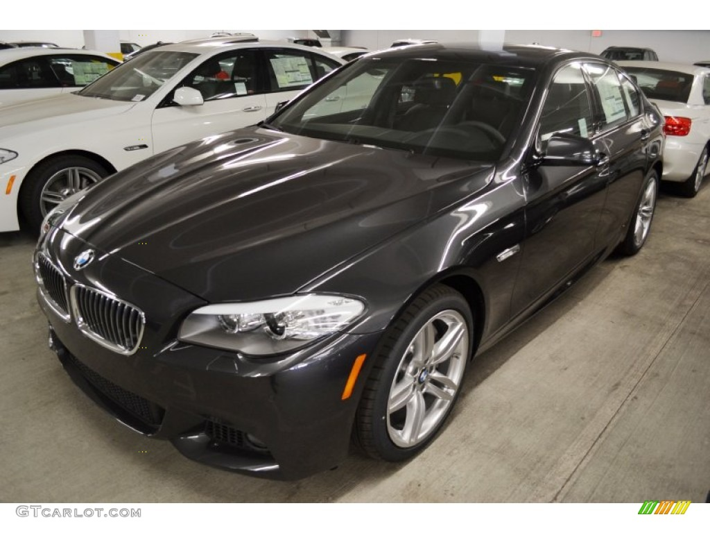 Dark Graphite Metallic Ii 2012 Bmw 5 Series 535i Sedan Exterior Photo 62244568 Gtcarlot Com