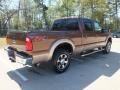 2012 Golden Bronze Metallic Ford F250 Super Duty Lariat Crew Cab 4x4  photo #5