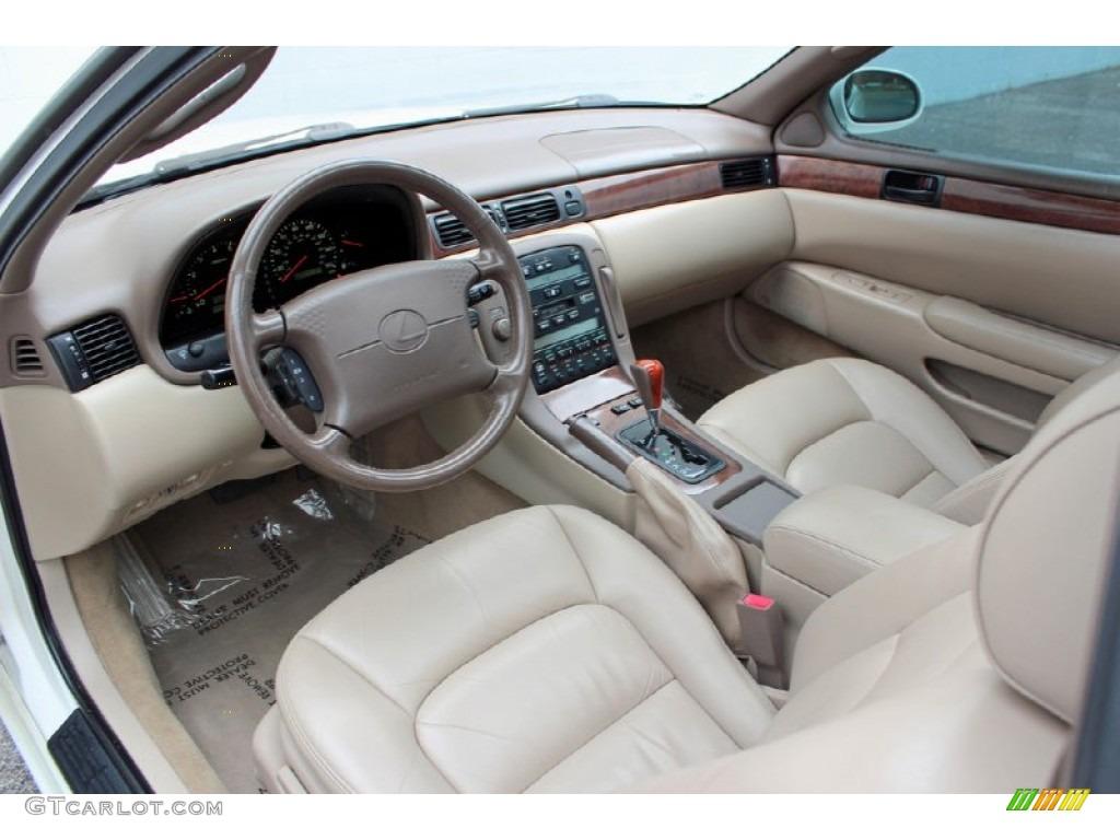 Beige Interior 1998 Lexus Sc 400 Photo 62250882